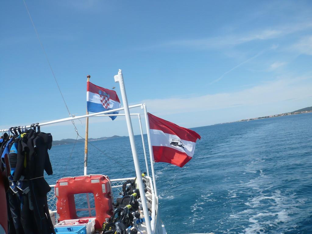 Wodo-Dive Flagge