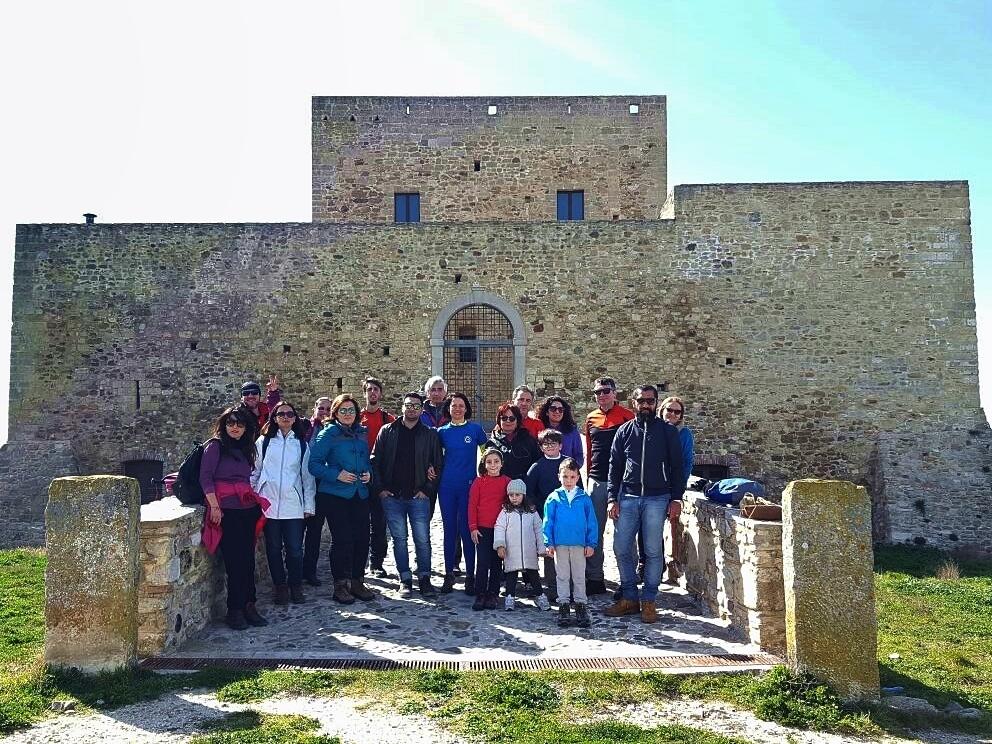 Monteserico, il castello solitario