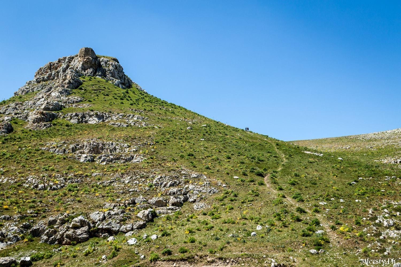 Il sentiero per conquistare la Rocca del Garagnone