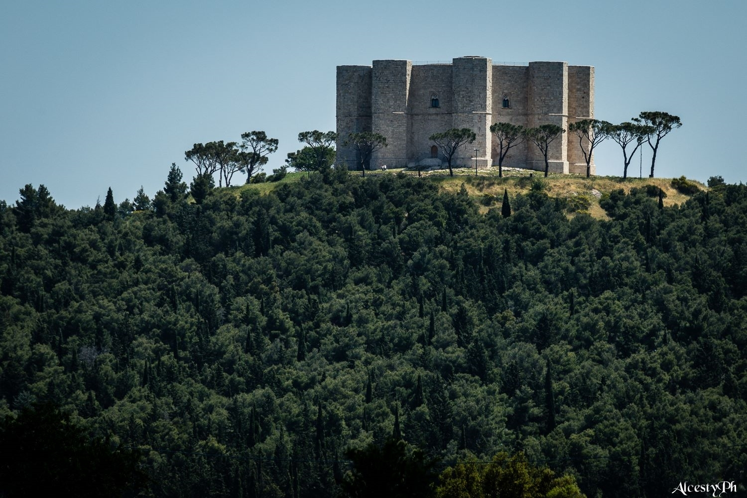 The majestic Castel del Monte castle, a UNESCO heritage