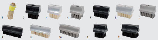 perma lubrication brushes