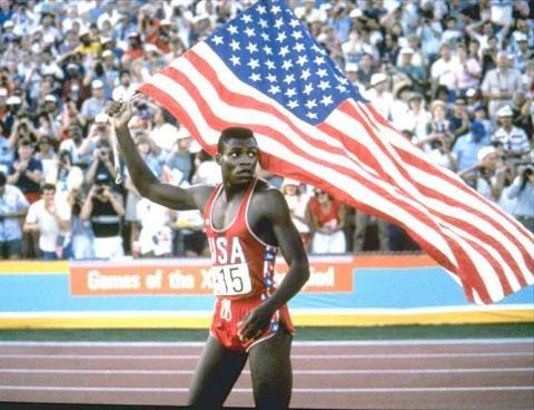 Carl Lewis, coureur olympique