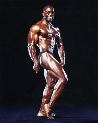 Jim Morris, Bodybuilder (61 ans sur la photo)