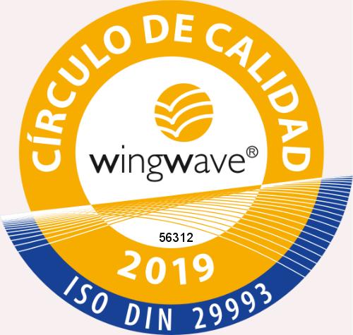 Sello de Calidad Coach wingwave®'19 nº 56312