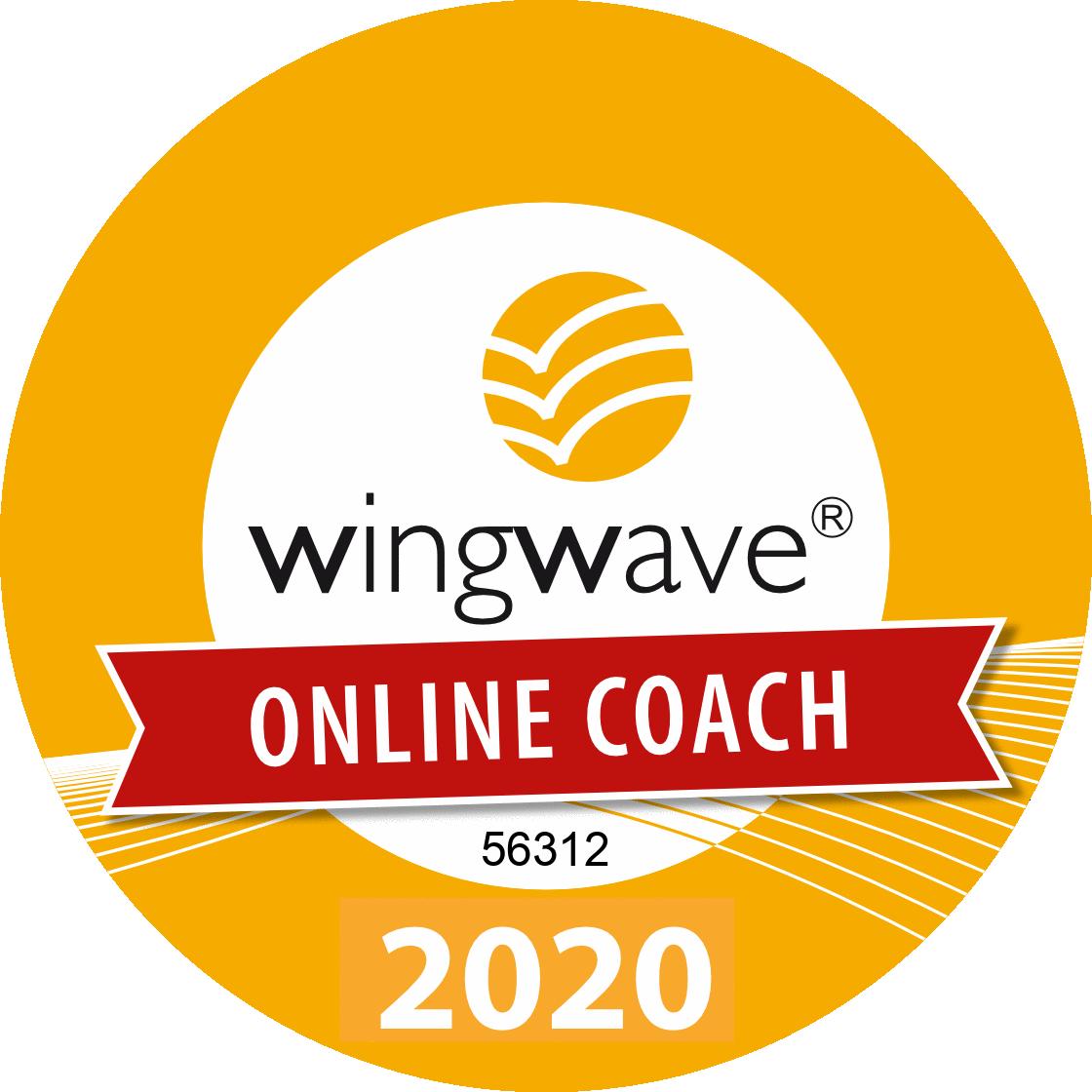 Sello de Calidad Coach Online wingwave®'20 nº 56312