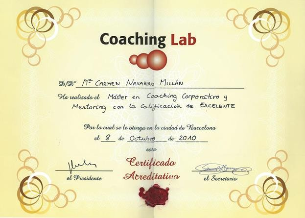 Máster en coaching corporativo y mentoring