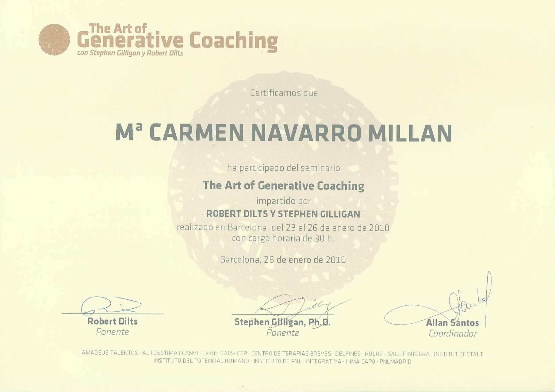 Generative coaching