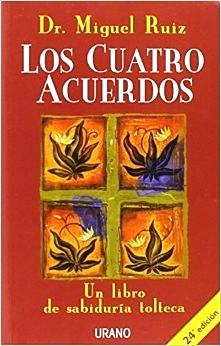 """Carátula del libro """"Los cuatro acuerdos"""""""