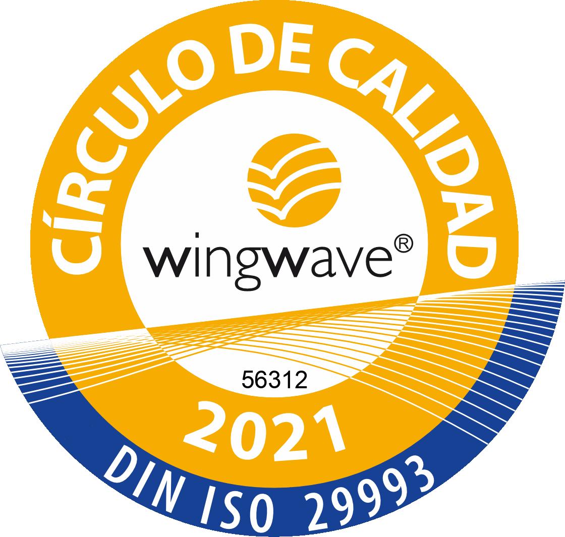 Sello de Calidad Coach wingwave®'21 nº 56312