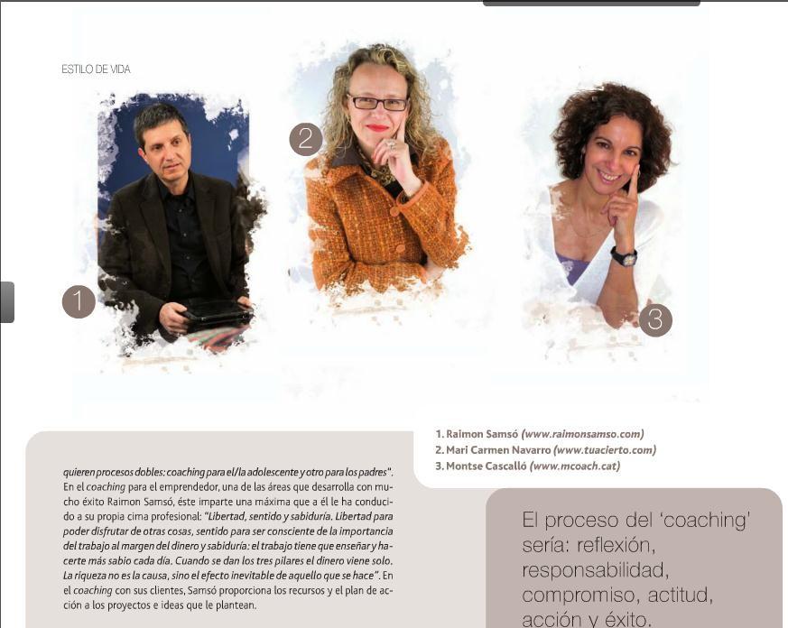 Entrevista realizada por Laura Carrión, para Barcelona Divina. Junto a los colegas Raimon Samsó y Montse Cascalló.