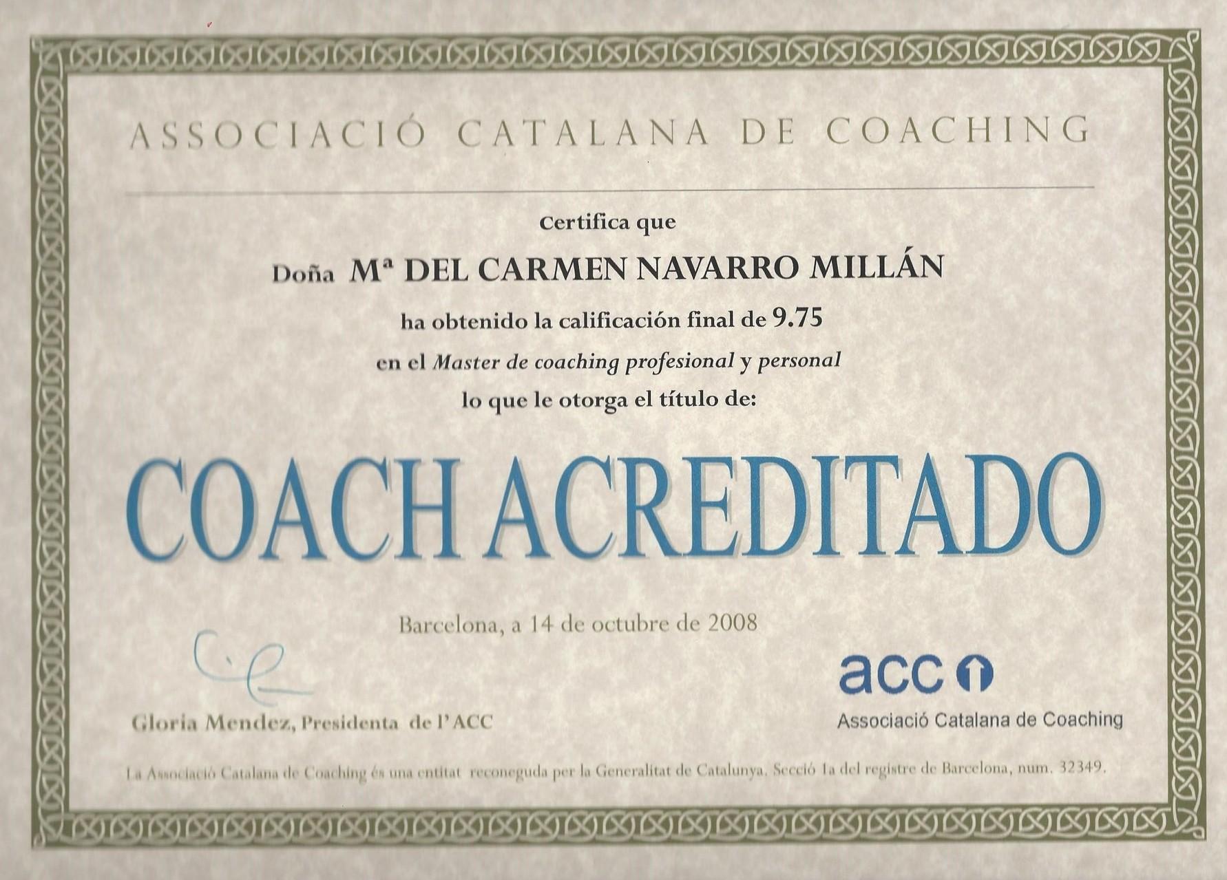Máster en coaching profesional y personal