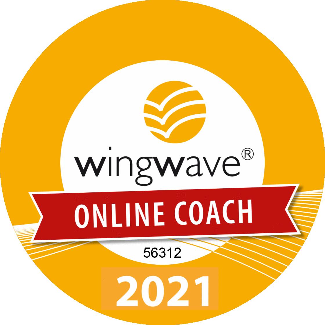 Sello de Calidad Coach wingwave®'21 Online nº 56312
