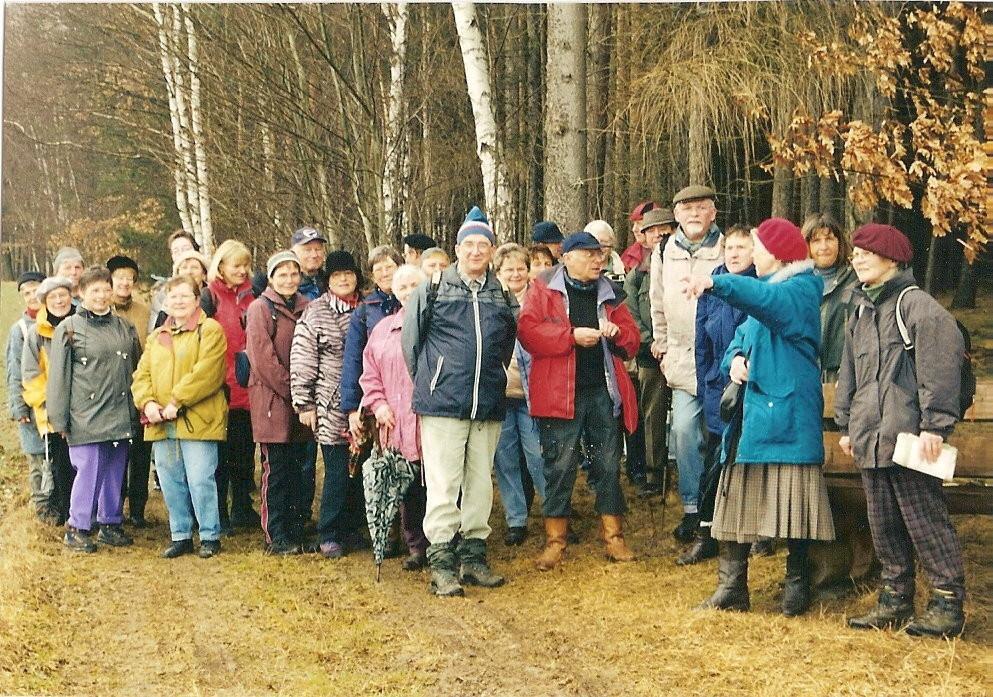 03.03.03: Rosenmontagstour im Untergrochlitzer Wald