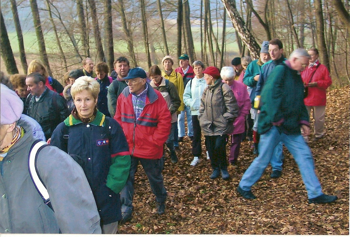 """25.11.2002: """"Am Fuchsbach"""" im Tal des Fuchsbaches mit Ziel Ockergrube"""