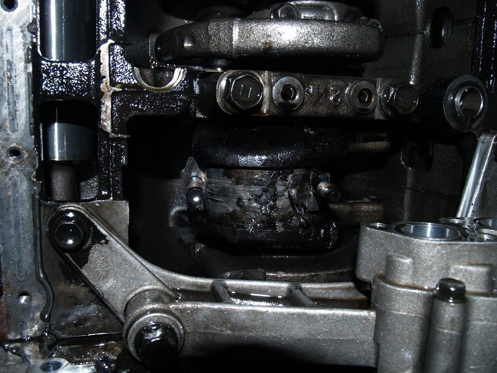Lagerschalen 1. Zylinder völlig verschmolzen