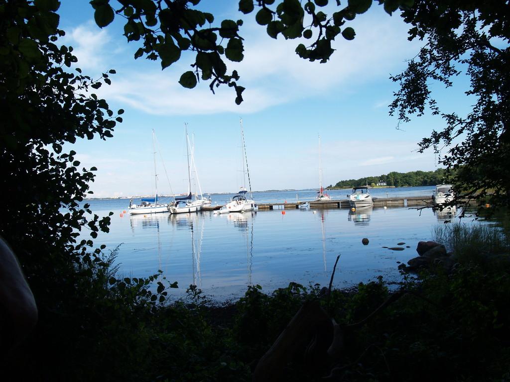 Tromtö herrliche ruhige kleine Bucht