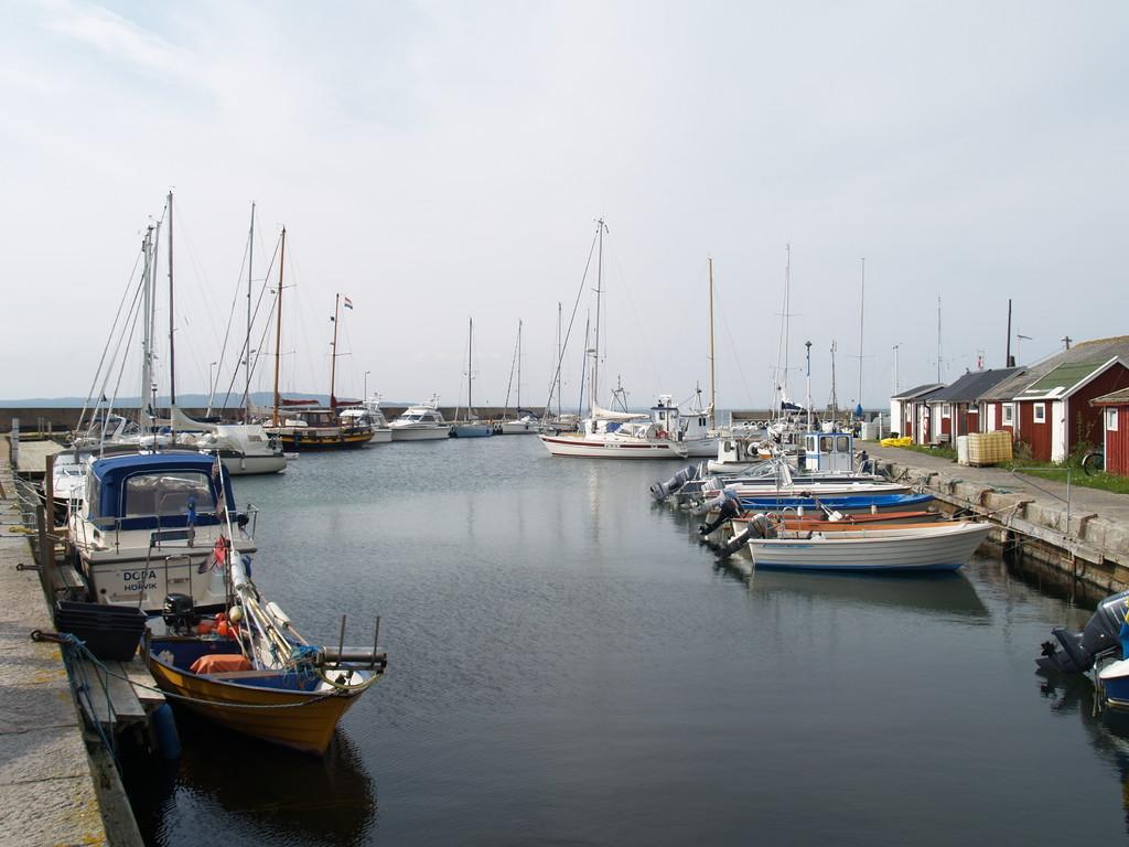 Insel Hanö schöner Hafen schöne Insel