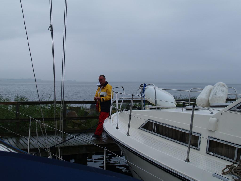 Schitwetter bis Hiddensee in MV teils Land unter