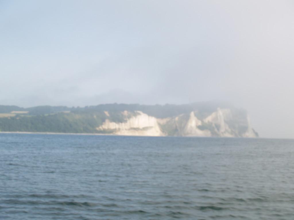 der Beginn einer 8 stündigen Nebelfahrt Sicht gleich Null schlagartig war alles dicht