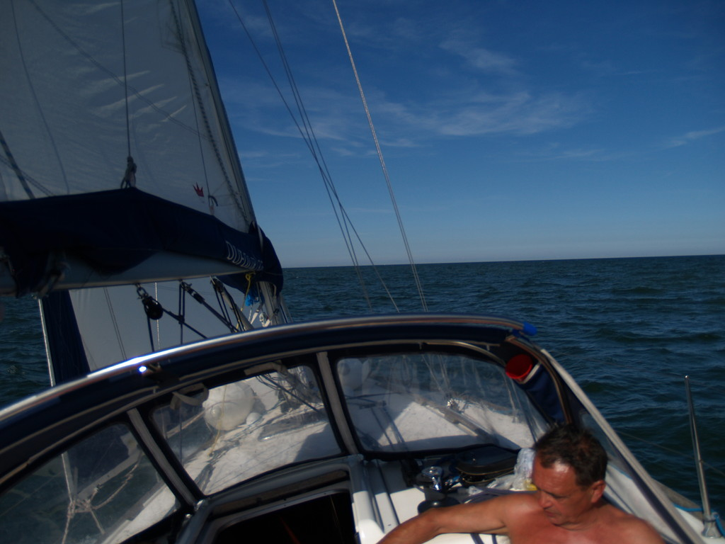 entspanntes segeln