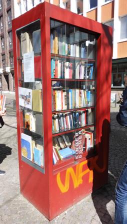 Bücherschrank Laurentiusplatz