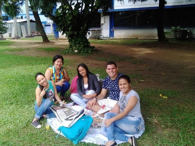 Picnic literario en la sede Pampalinda, USC
