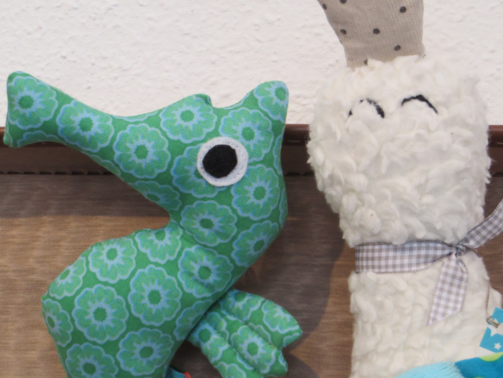 Hand Made Rattle - Schmuckzauber - Seahorse - 39,- / Duck - 49,- Kids Design
