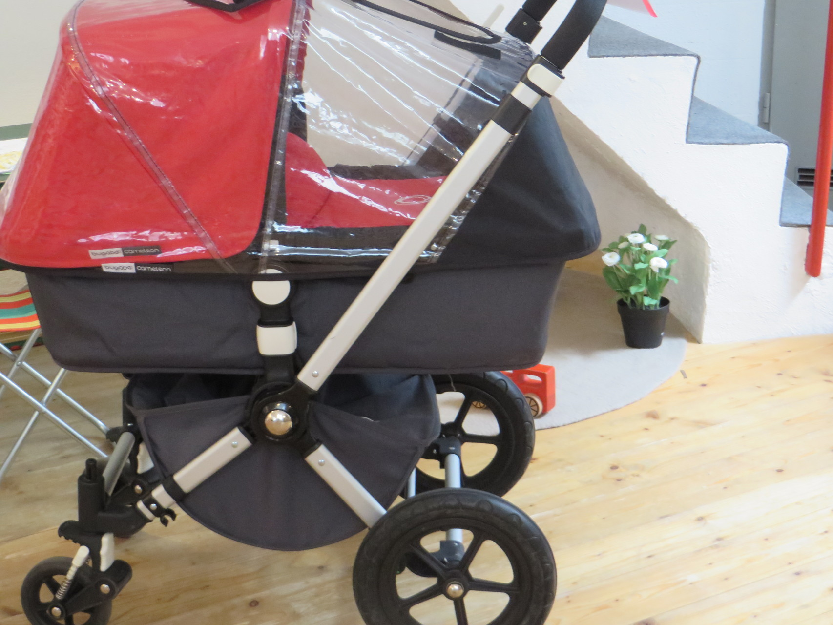 Pram/Stroller - Bugaboo Cameleon - inkl down sleeping and travel Bag - 750,- Second Hand
