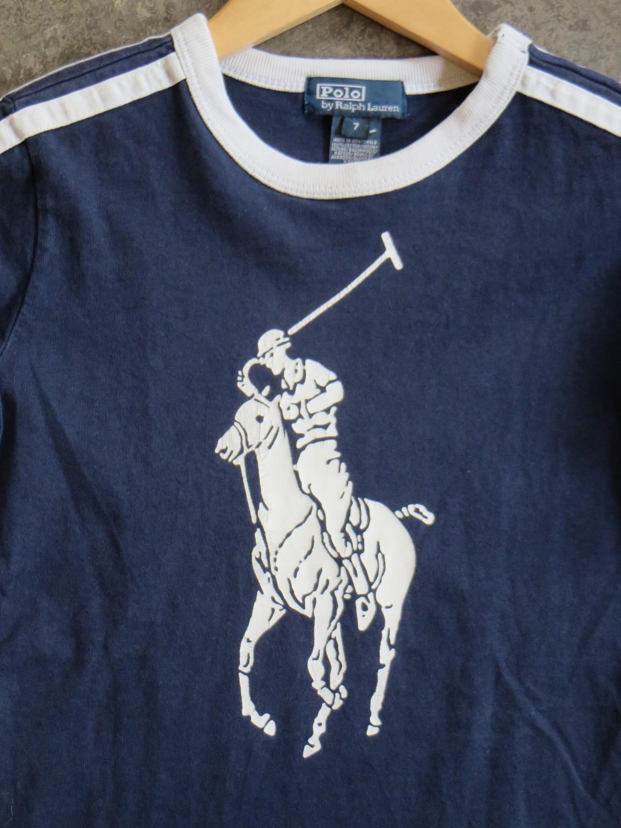 Tshirt - 3/4 Y - Ralph Lauren - 19,50 chf - Second Hand