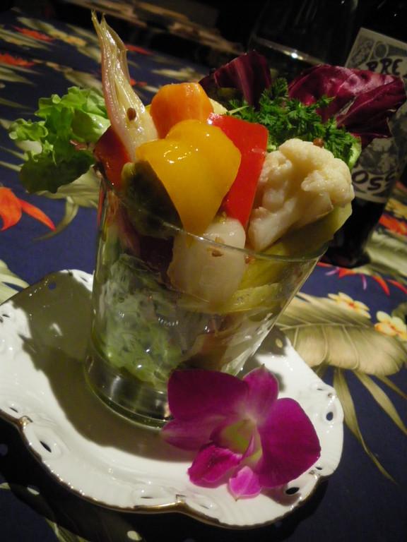 野菜のマリネ コリアンダー風味