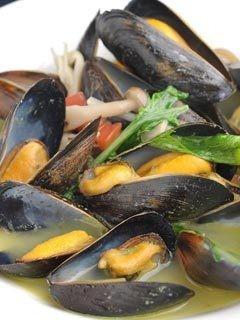 ムール貝のワイン蒸し 漁師風