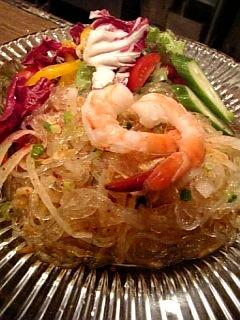 タイランド風春雨サラダ