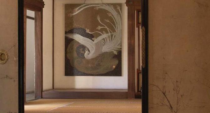 ● KANHIKARI ART EXPO 2011 KYOTO 御寺泉涌寺の展示 「回生」・100F