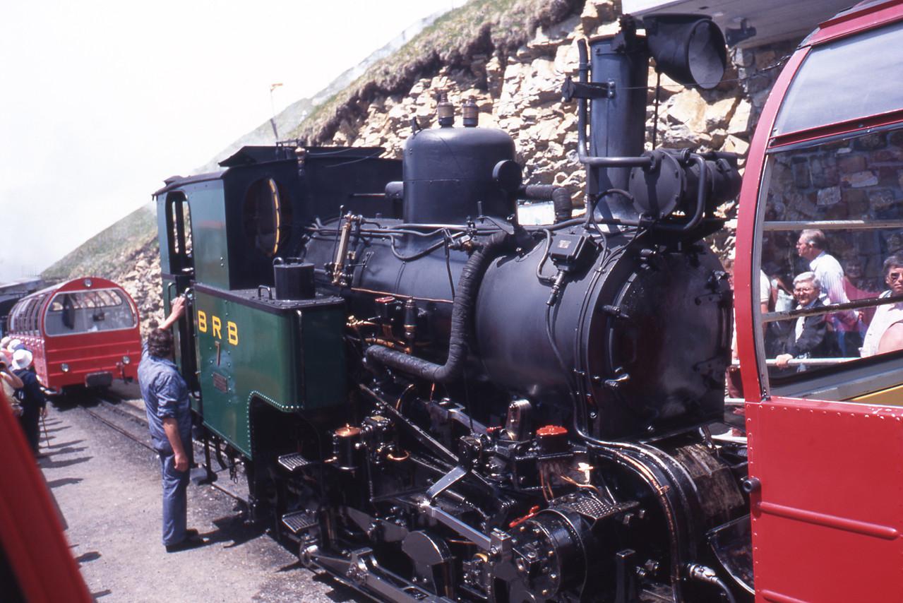 スイスの登山列車