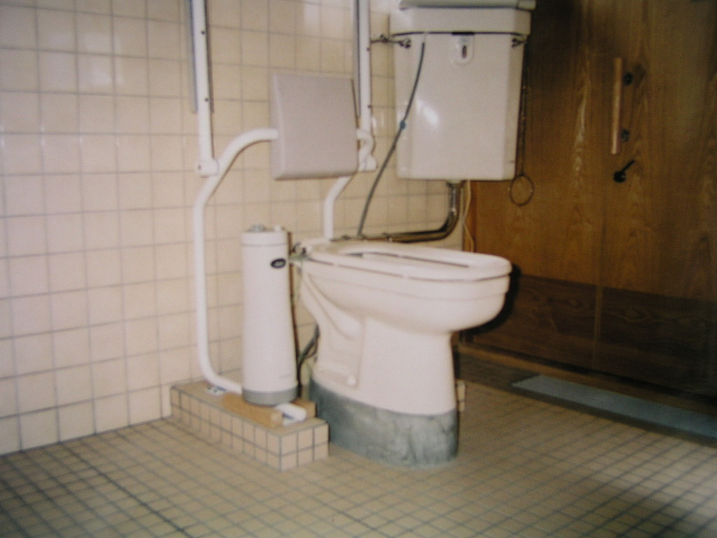 簡易式洗浄機、この便器に会う洗浄器が少ない