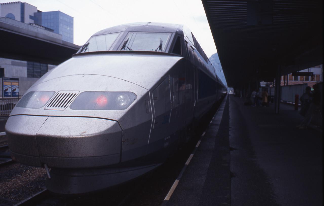 ヨーロッパの新幹線