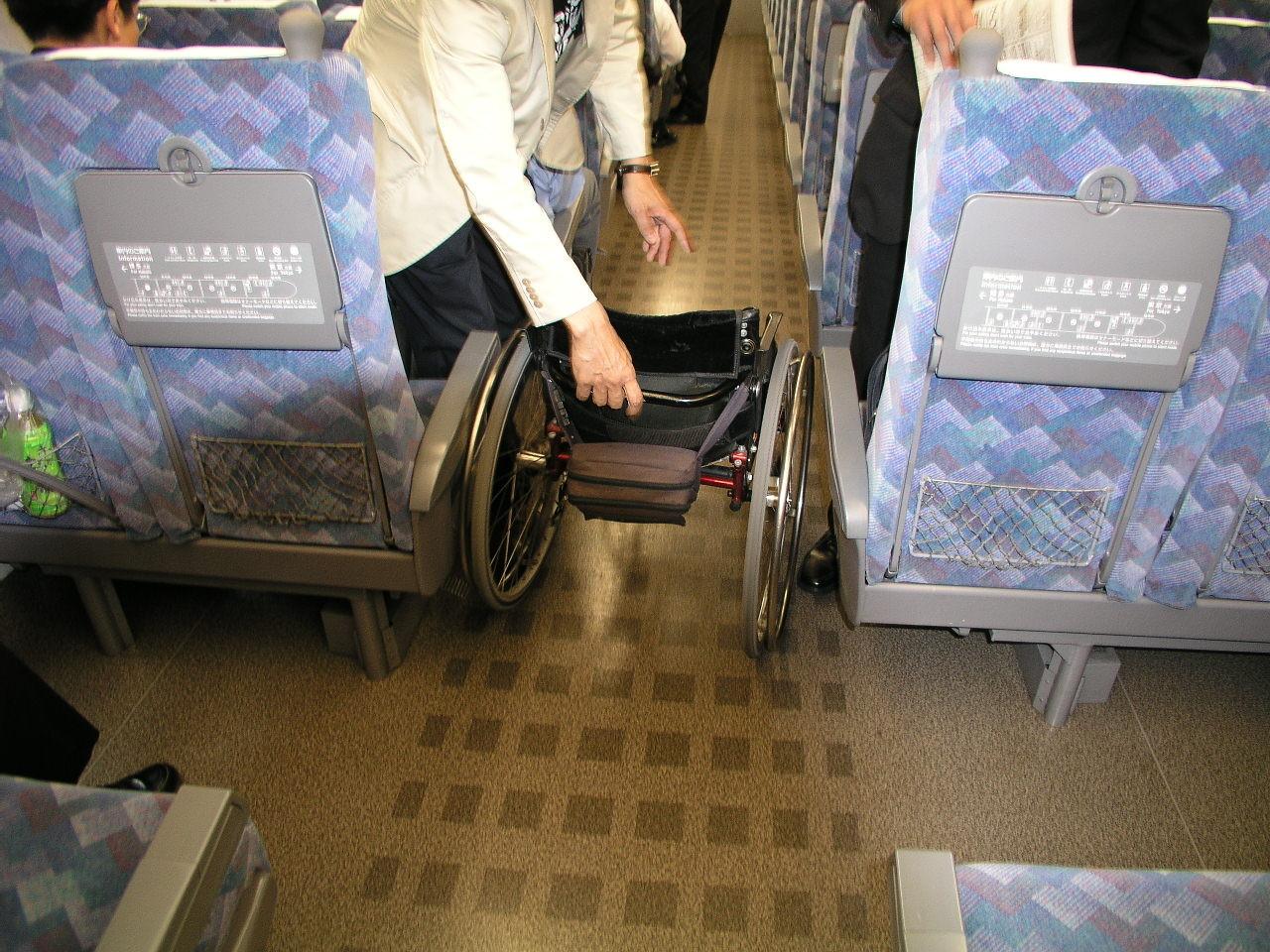 新幹線で大阪に移動