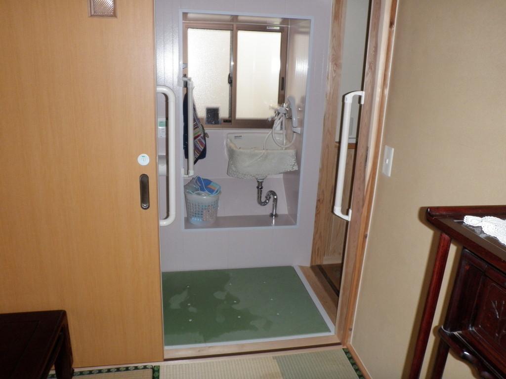 便所でシャワーが使えることがご要望