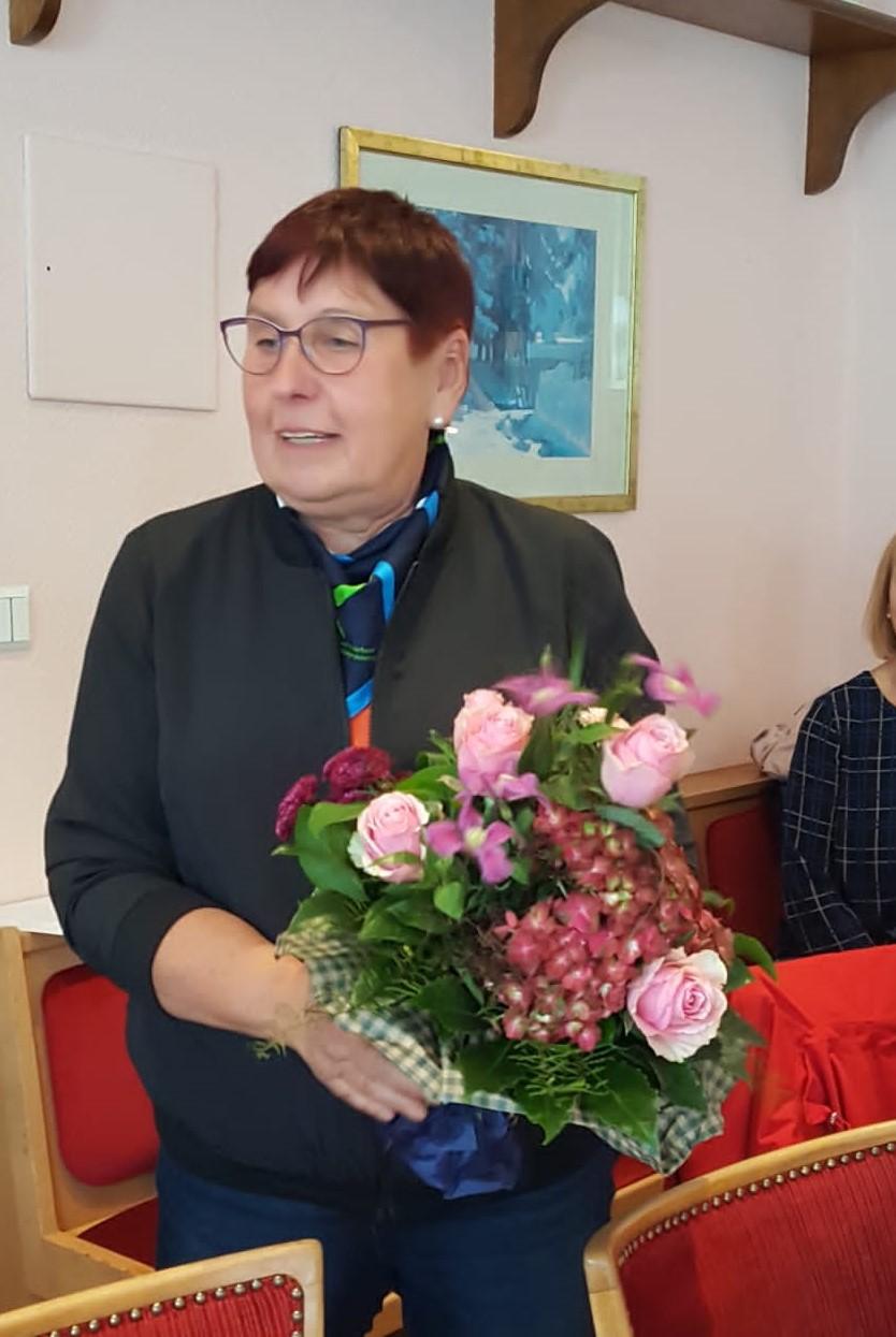Doris Hinrichsen wird nach 8 Jahren verabschiedet