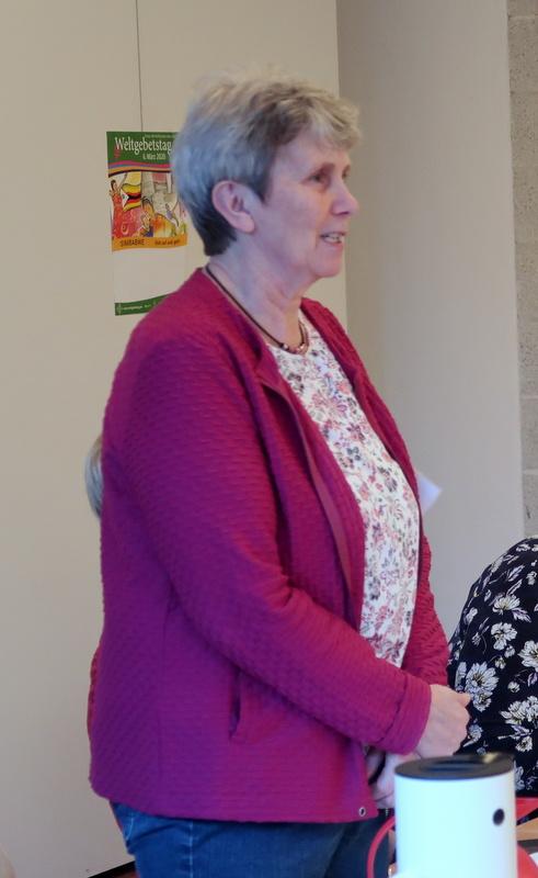 Die neue Beisitzerin Doris Fey aus Kalübbe stellt sich vor