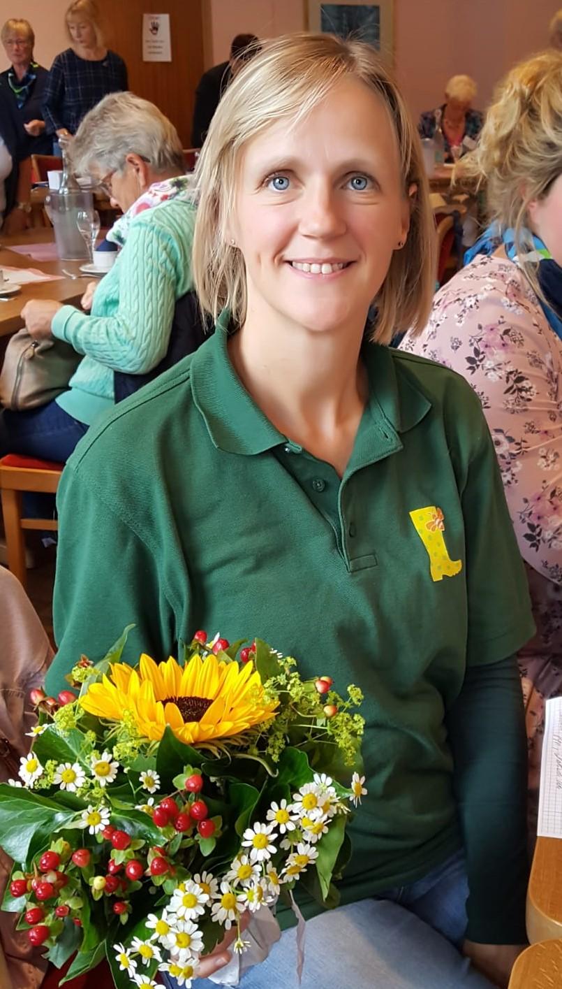 Sandra Plaug, Boksee, ist Beisitzerin für die Jungen LandFrauen