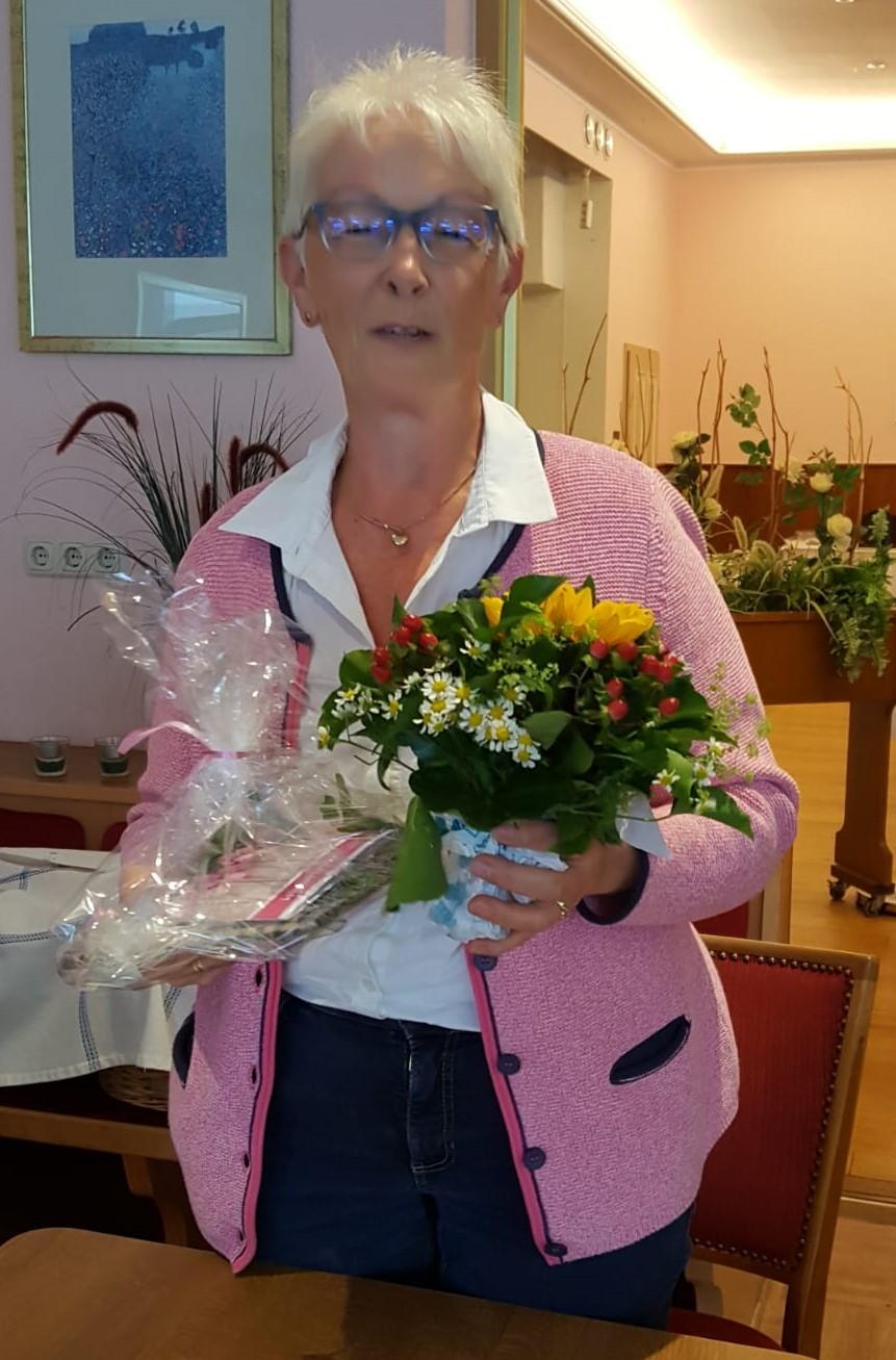 Hannelore Jipp war 4 Jahre Beisitzerin