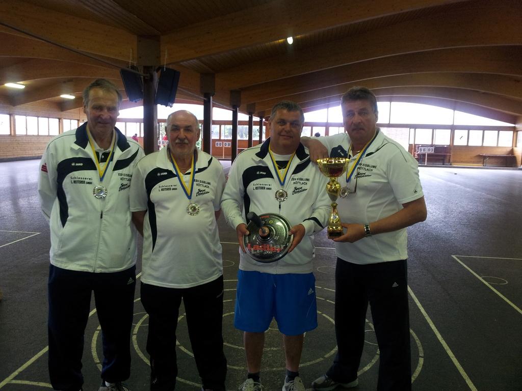 Senioren Landesmeisterschaft 2012 - Platz 2 - ESV Eisblume Köttlach