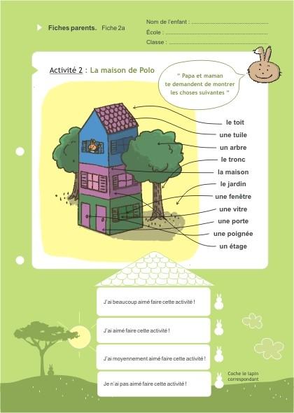 Eduquons ensemble avec Polo le lapin, extrait fascicule 2 (version parents-enfants)