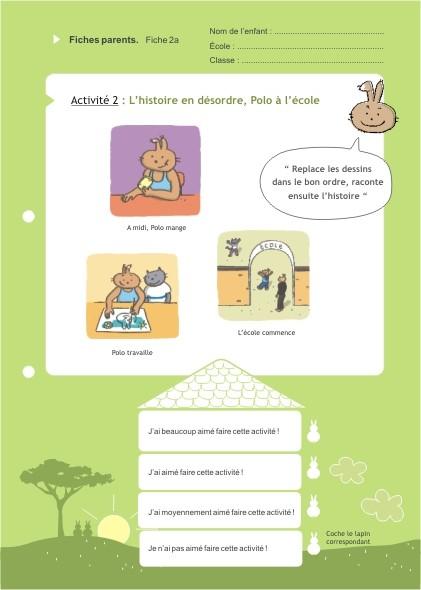 Eduquons ensemble avec Polo le lapin, extrait fascicule 1 (version parents-enfants)