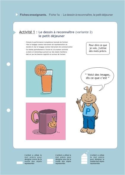 Eduquons ensemble avec Polo le lapin, extrait fascicule 2 (version enseignants)