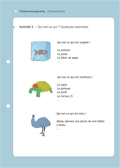 Eduquons ensemble avec Polo le lapin, extrait fascicule 6 (version enseignants)