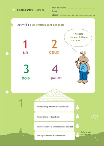 Eduquons ensemble avec Polo le lapin, extrait fascicule 9 (version parents-enfants)