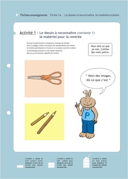 Eduquons ensemble avec Polo le lapin, extrait fascicule 1 (version enseignants)