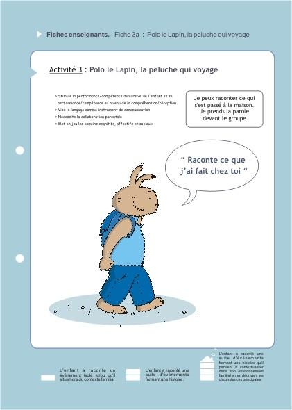 Eduquons ensemble avec Polo le lapin, extrait fascicule 3 (version enseignants)